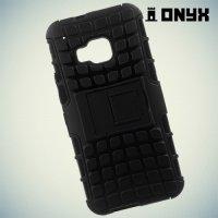 Противоударный защитный чехол для HTC One M9 - Черный