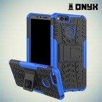 Противоударный защитный чехол для Huawei Honor 7X - Синий