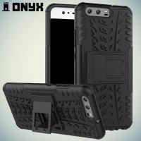 Противоударный защитный чехол для Huawei P10 - Черный