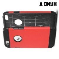 Противоударный защитный чехол для iPhone 6S / 6  - Красный
