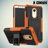 Противоударный защитный чехол для Xiaomi Redmi 5 - Оранжевый