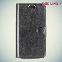 Red Line чехол книжка для ASUS Zenfone 2 Lazer (Laser) ZE500KL ZE500KG - Черный