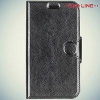 Red Line чехол книжка для Samsung Galaxy J1 2016 SM-J120F - Черный