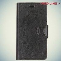 Red Line чехол книжка для Xiaomi Redmi 3s / 3 pro - Черный