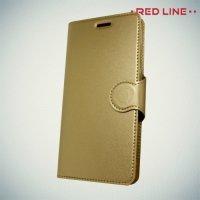 Red Line чехол книжка для Xiaomi Redmi 5 - Золотой