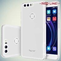 Red Line силиконовый чехол для Huawei Honor 8 - Прозрачный