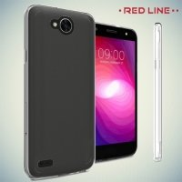 Red Line силиконовый чехол для LG X Power 2 LGM320 - Прозрачный