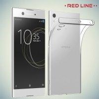 Red Line силиконовый чехол для Sony Xperia XA1 - Прозрачный