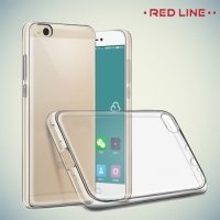 Red Line силиконовый чехол для Xiaomi Mi 5c - Прозрачный