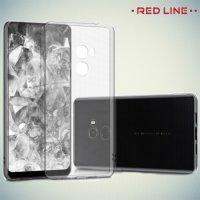 Red Line силиконовый чехол для Xiaomi Mi Mix 2 - Прозрачный