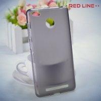 Red Line силиконовый чехол для Xiaomi Redmi 3s / 3 pro - Матовый серый