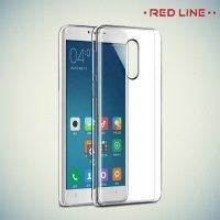 Red Line силиконовый чехол для Xiaomi Redmi Note 4X - Прозрачный