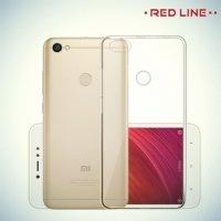 Red Line силиконовый чехол для Xiaomi Redmi Note 5A 3/32GB - Прозрачный