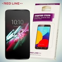 Red Line Закаленное защитное стекло для Alcatel One Touch Idol 3 (4,7) 6039Y