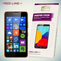 Red Line Закаленное защитное стекло для Microsoft Lumia 640 (3G, LTE, Dual Sim)