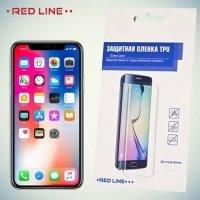 Red Line защитная пленка для iPhone X на весь экран