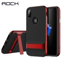 ROCK Royce Series противоударный чехол для iPhone X - Красный