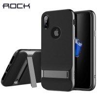 ROCK Royce Series противоударный чехол для iPhone X - Серый