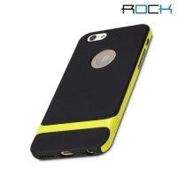 ROCK Royce Series тонкий противоударный чехол для iPhone 6S / 6 - Желтый