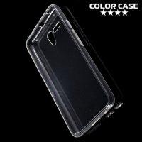 Силиконовый чехол для Alcatel One Touch POP 3 5025D - Глянцевый Прозрачный
