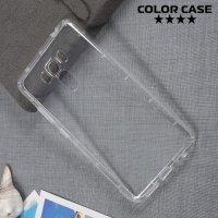 Силиконовый чехол для Asus ZenFone 3 Laser ZC551KL противоударный - Прозрачный