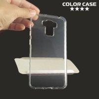 Силиконовый чехол для Asus ZenFone 3 Max ZC553KL  - Глянцевый Прозрачный