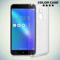 Тонкий силиконовый чехол для Asus ZenFone 3 Max ZC553KL - Прозрачный