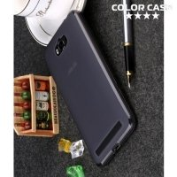 Силиконовый чехол для ASUS ZenFone Max ZC550KL - Матовый Черный