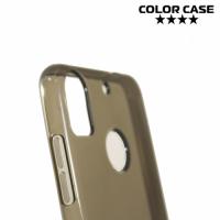 Силиконовый чехол для HTC Desire 10 pro - Глянцевый Серый