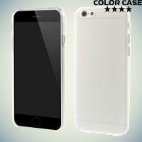 Силиконовый чехол для iPhone 6S / 6 - Матовый Белый