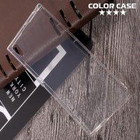 Силиконовый чехол для Sony Xperia XA1 Ultra противоударный - Прозрачный