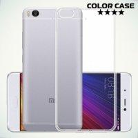 Силиконовый чехол для Xiaomi Mi 5s - Глянцевый Прозрачный