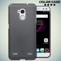 Силиконовый чехол для ZTE Blade V7 Lite - Матовый Черный