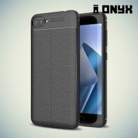 Силиконовый чехол под кожу для ASUS ZenFone 4 Max ZC554KL - Черный
