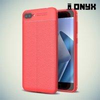 Силиконовый чехол под кожу для ASUS ZenFone 4 Max ZC554KL - Красный