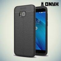 Силиконовый чехол под кожу для Asus Zenfone 4 Selfie Pro ZD552KL - с рисунком Черный