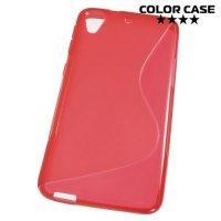 Силиконовый чехол для HTC Desire 626 / 628 - Красный