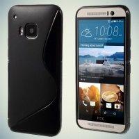 Силиконовый чехол для HTC One M9 - Черный