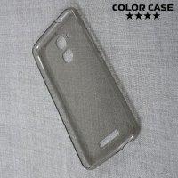 Тонкий силиконовый чехол для Asus ZenFone 3 Max ZC520TL - Серый