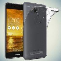 Cиликоновый чехол для Asus ZenFone 3 Max ZC520TL - Прозрачный