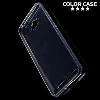 Тонкий силиконовый чехол для ASUS ZenFone Max ZC550KL - Прозрачный