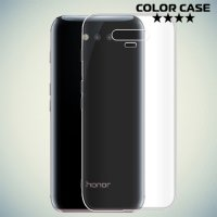 Тонкий силиконовый чехол для Huawei Honor Magic - Прозрачный