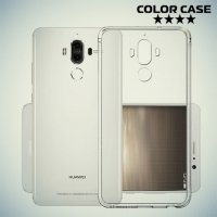 Тонкий силиконовый чехол для Huawei Mate 9 - Прозрачный