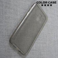 Тонкий силиконовый чехол для Samsung Galaxy A3 2017 SM-A320F - Серый