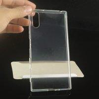 Силиконовый чехол для Sony Xperia XZ / XZs - Глянцевый Прозрачный