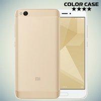 Тонкий силиконовый чехол для Xiaomi Mi 5c - Прозрачный
