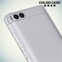 Тонкий силиконовый чехол для Xiaomi Mi 6 - Прозрачный