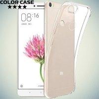 Тонкий силиконовый чехол для Xiaomi Mi Max - Прозрачный