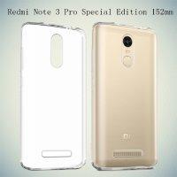 Cиликоновый чехол для Xiaomi Redmi Note 3 Pro SE Special Edition - Прозрачный