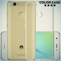 ColorCase Силиконовый тонкий чехол для Huawei nova - Прозрачный
